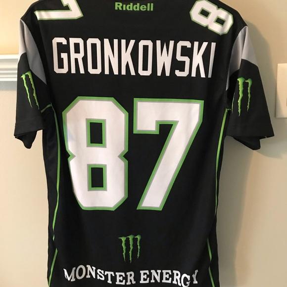 Monster Energy Rob Gronkowski Football Jersey